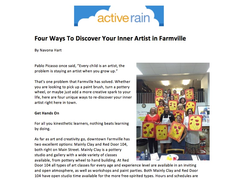 Four Ways To Discover Your Inner Artist in Farmville