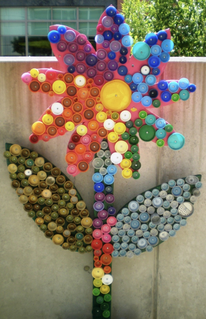 Bottle Cap Flower Project - Join Us!