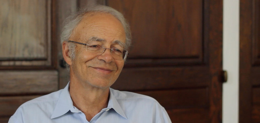 Find dozens of interviews such as this one with bioethicist Peter Singer in the  Interviews Gallery