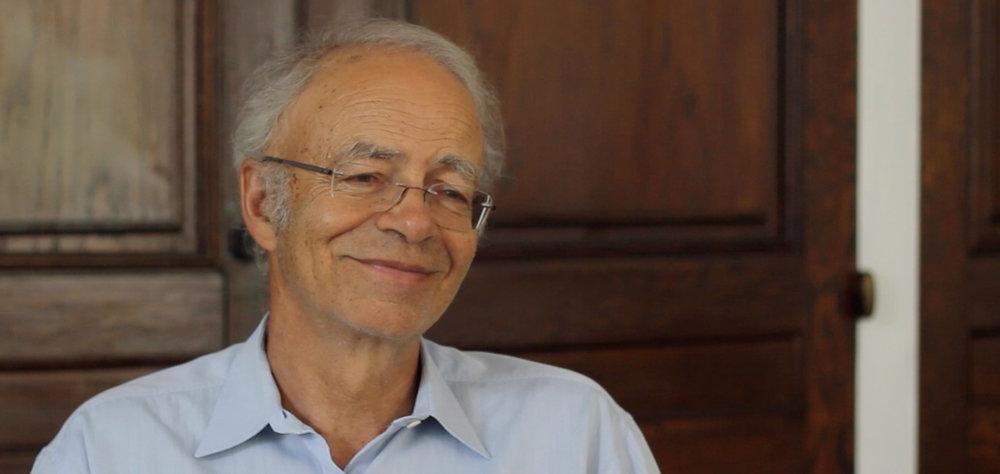 Peter Singer   Professor of Bioethics  Princeton University, Princeton, NJ