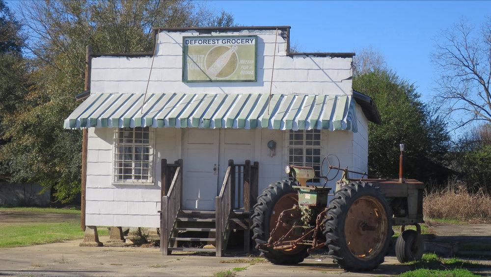 Tractor Outside Deli.JPG