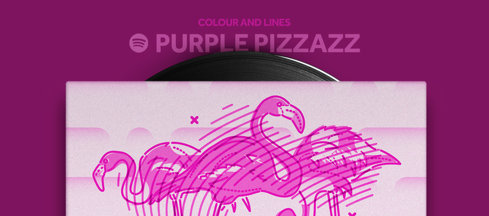 Colour and Lines Mixtape - Purple Pizzazz