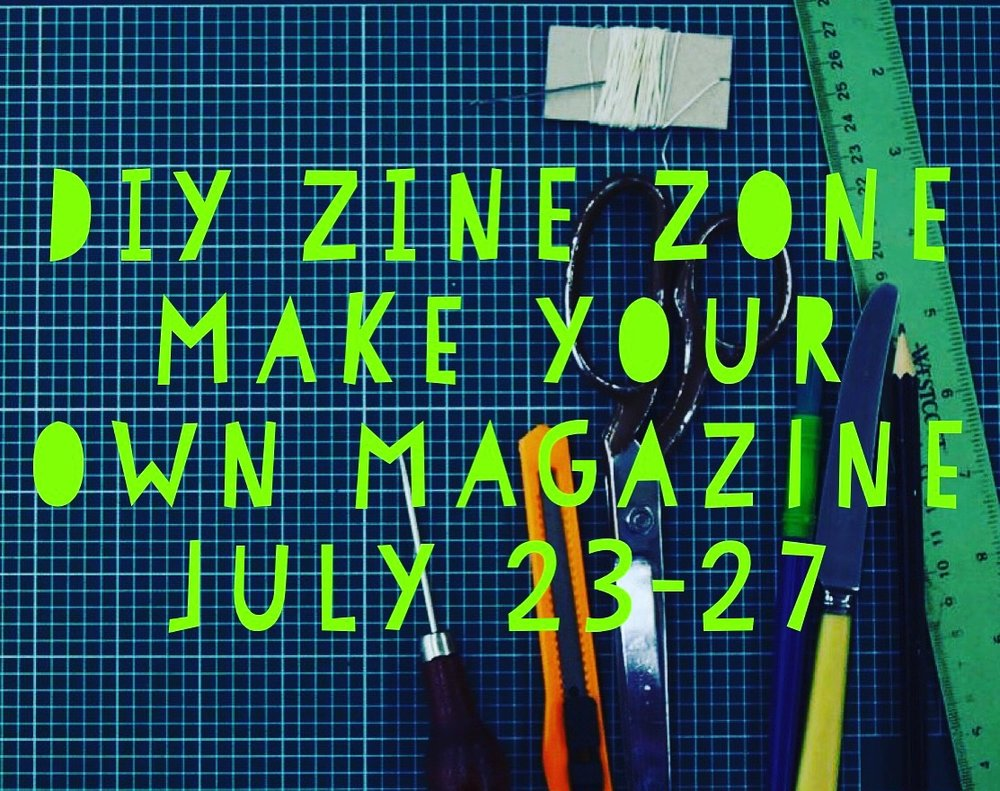 DIY Zine Camp    - July 23 - July 27 | Ages 10 to 18Literature, comic books, photography, movies, illustration, any visual art -- Zine Camp is for students who love all of these and want to learn how to edit, create, and distribute art in DIY magazines. A zine is a self-published book or booklet that can be reproduced to share or sell. Moreover, Zine content is all-inclusive and can go beyond conventional material. This camp is about promoting creative possibilities and sharing ideas-- tools that will last a lifetime! Activities include photography, screen printing, written word, drawing, collaging, and more.About the teaching artists:  Luisa Martinez and David Peña are interdisciplinary artists based in Tijuana/San Diego. They are co-founders and organizers of Tijuana Zine Fest, a large scale festival which celebrates self-publishing and independent art. Their work centers on illustration, but has developed to include public practice, installation work, and written text.