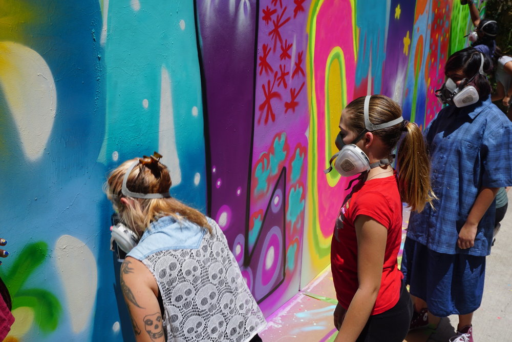 ENGAGING underserved populations and artists of tomorrow - artist-in-school residenciessummer and holiday art campsoffsite community art initiatives