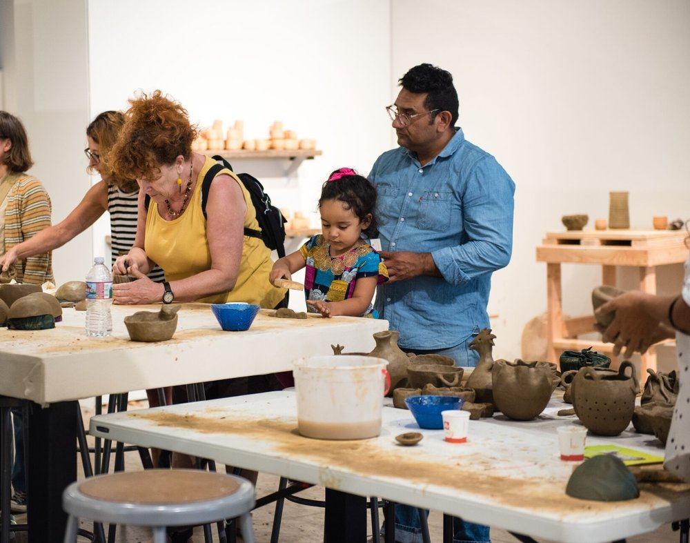 REVEALING culture and promoting diversity, equity, and inclusion - community art projectsmultilingual programminggallery educators and guided toursfree and discounted admission