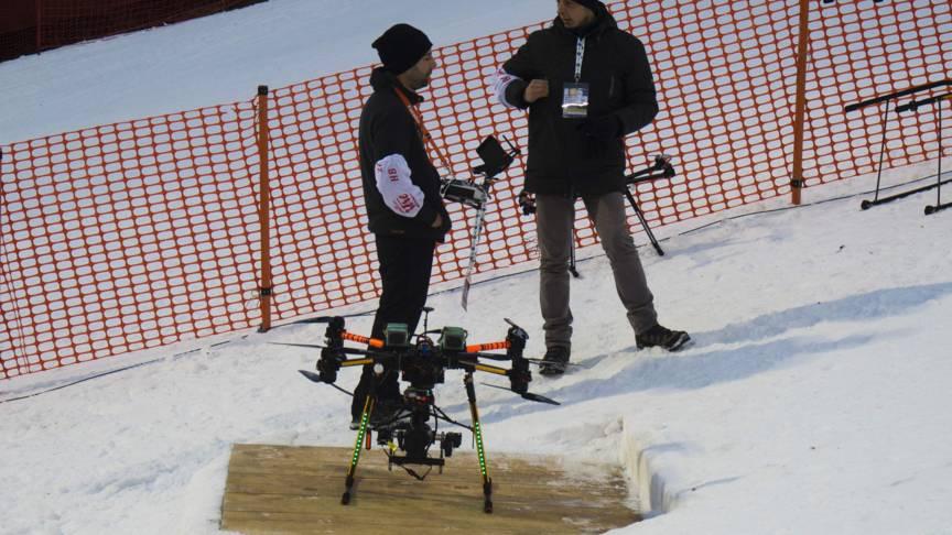 Hier is de drone nog kompleet