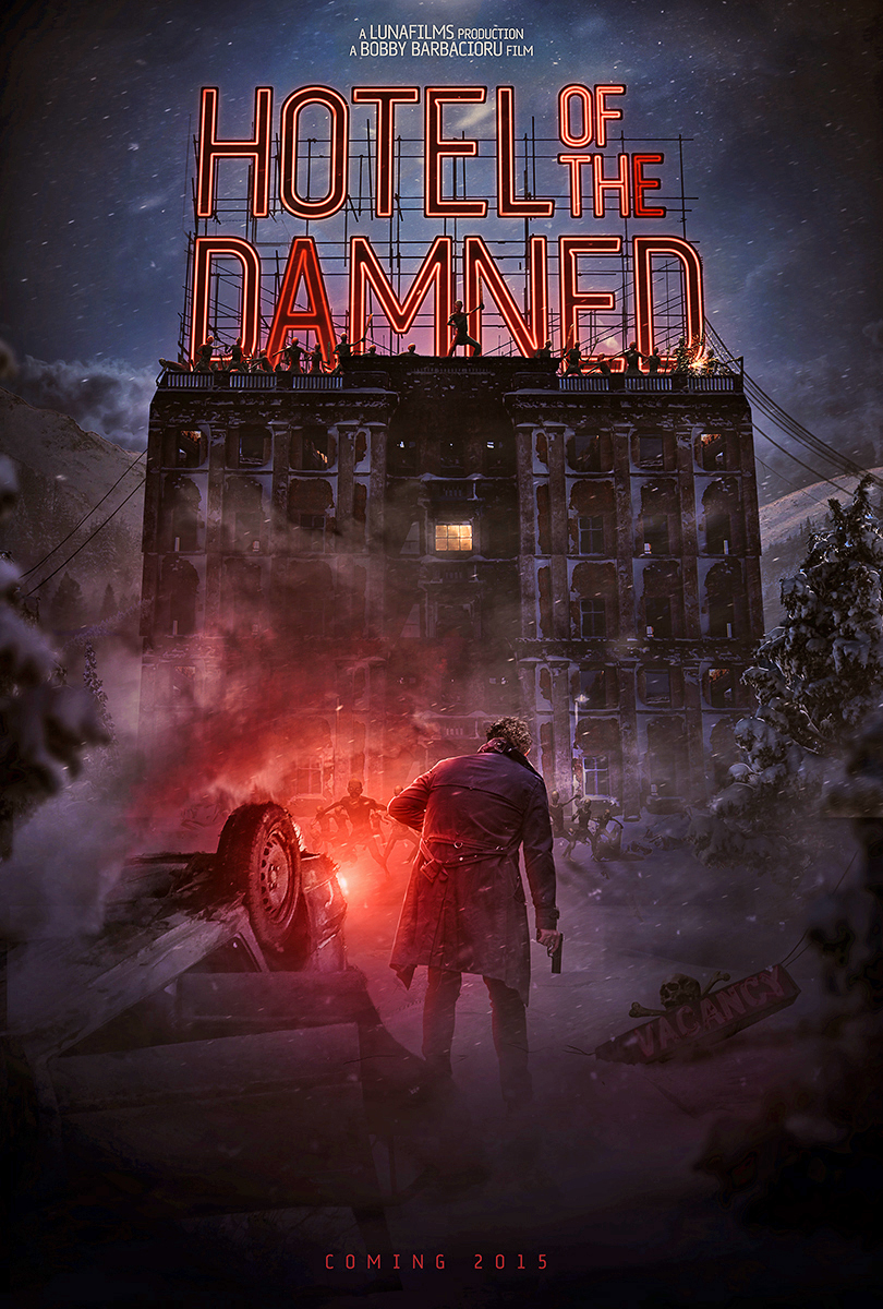 Hotel of The Damned movie poster