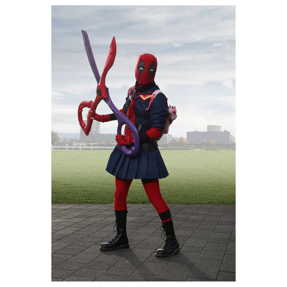 Deadpool School Uniform
