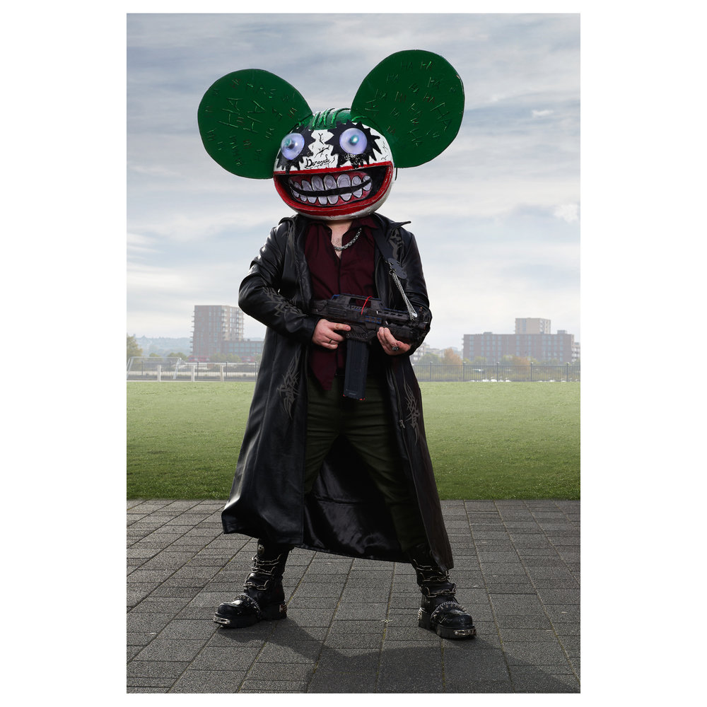 deadmau5 head costumes reenactment theater ebay cosplayers bart pajak photography