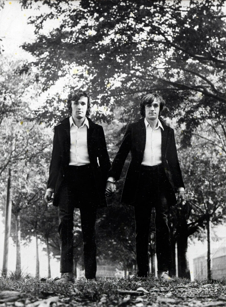 Alighiero Boetti, Gemelli ( Twins ), 1968