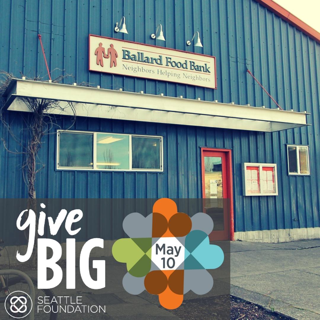 give food + hope on may 10th! — ballard food bank