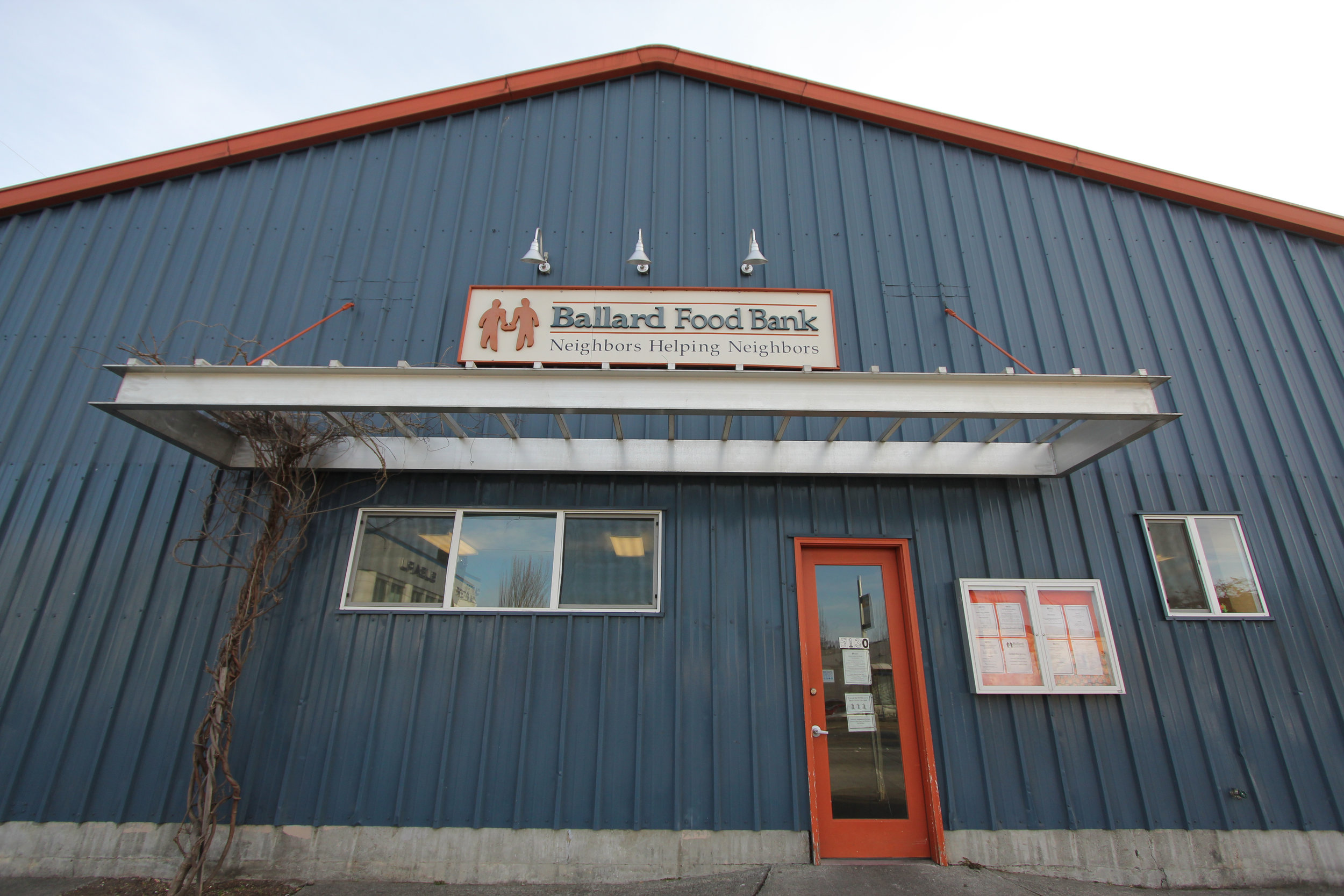 a fond farewell to two special team members — ballard food bank