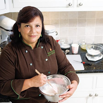 Chef Greeley is a well-known cake competition competitor and has appeared on many television shows including Food Network Challenge, Wedding Cake Wars, Sugar Dome and Housewives of Connecticut to name a few. Chef Greeley is also a passionate instructor and loves giving back to her community.