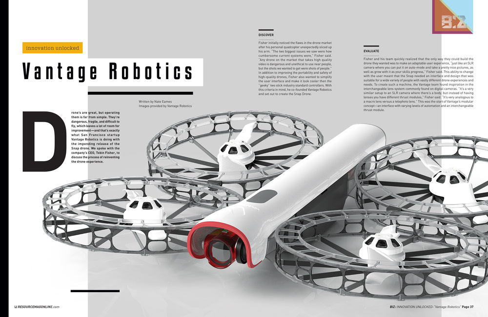 Innovation Unlocked: Vantage Robotics (pages 1 & 2)