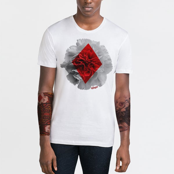 Diamond Bloom Designer T-shirt