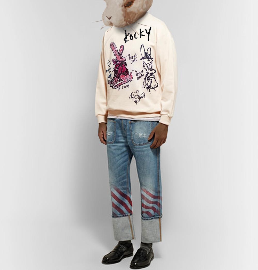 Yo-Kocky-Original-Sketch-Sweatshirt-on-Model.png