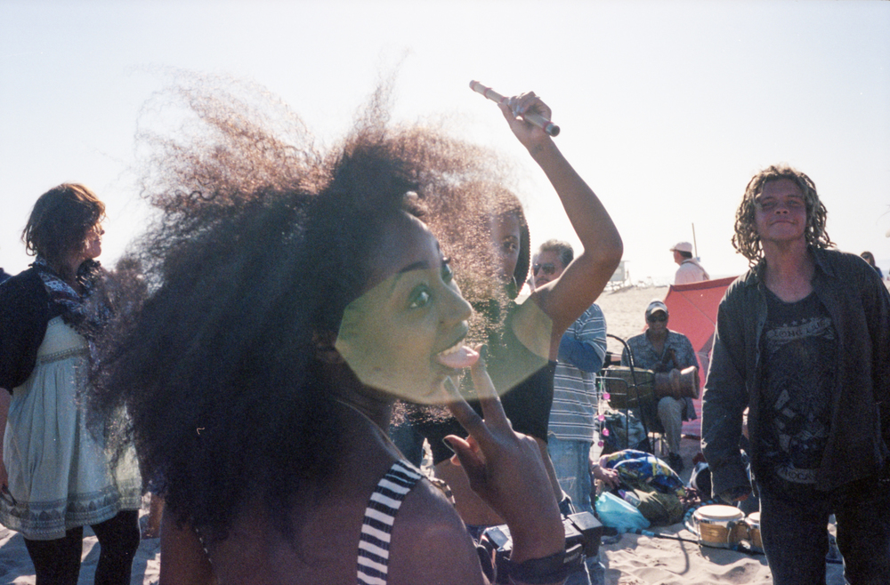 Dancers on the Drum Circle. Venice Beach, CA - 2014