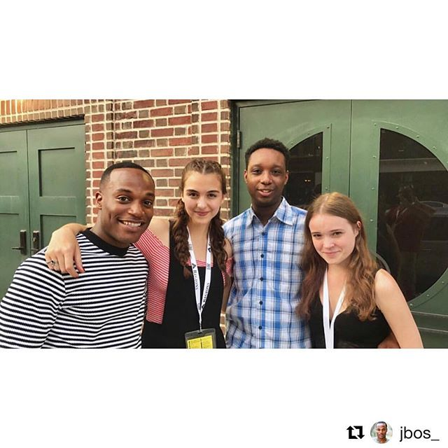 ⚡️ TBT to @sidewalkfilm with @nadia_alexander and @quinnshephardofficial 💜 #Repost @jbos_ ・・・ If you guys haven't already, check out Netflix's Seven Seconds, @nadia_alexander is killing the game! Congrats and awesome work Nadia!