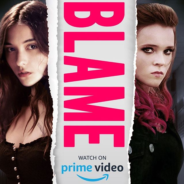 BLAME is out TODAY on @primevideo ✨⚡️🔥 link in bio!