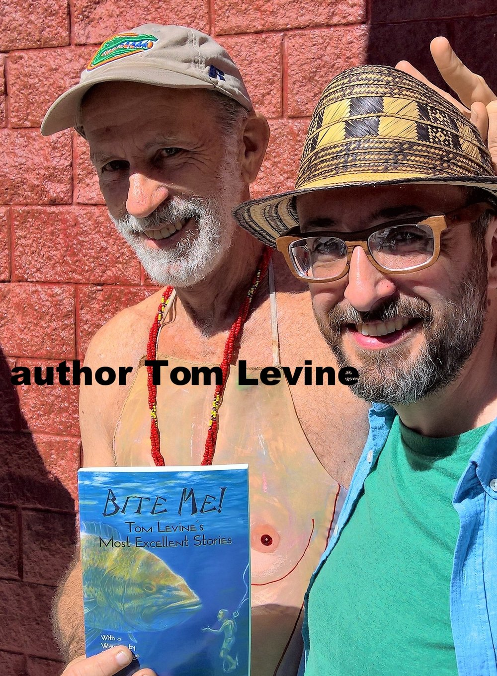with author Tom Levine