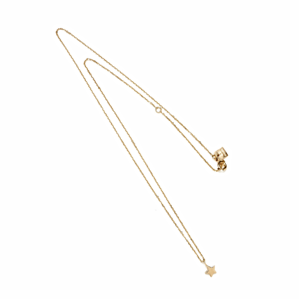 BY Charlotte gold first star necklace