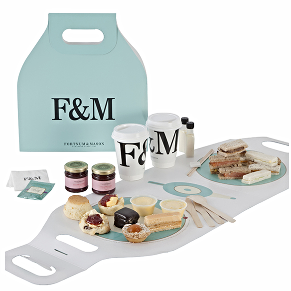 Fortnum & Mason afternoon tea for two hamper