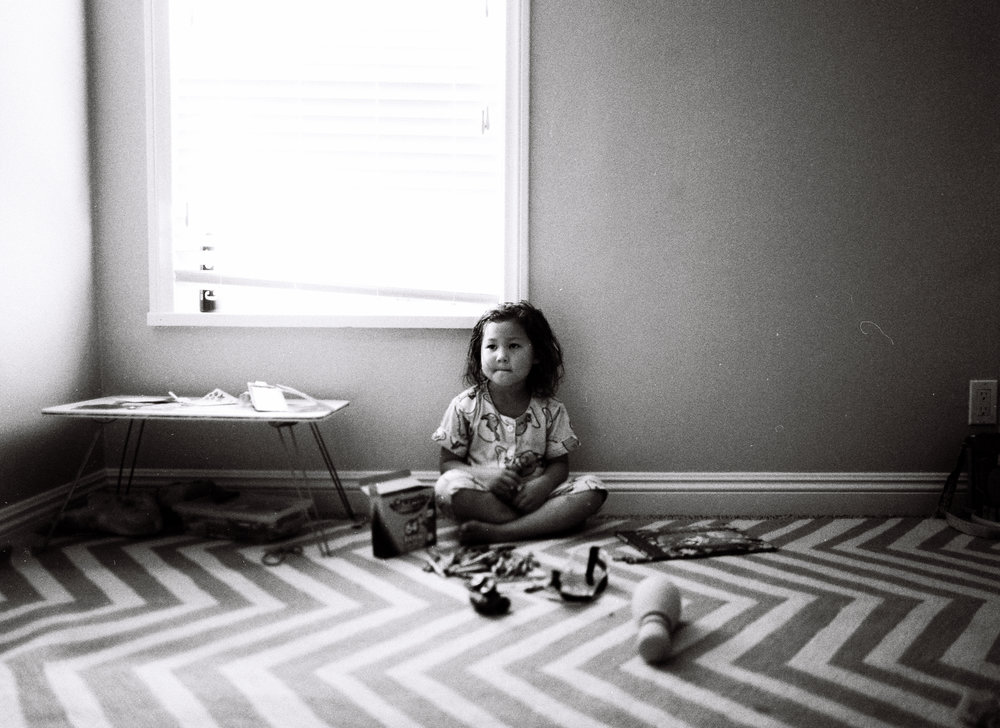 Contemplative by Po Chi Fung Photography / Ventura Documentary Family Photography