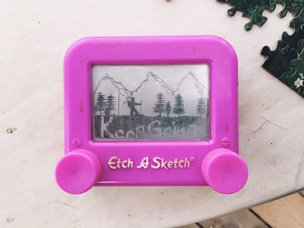 Amazing etch a sketch someone drew.