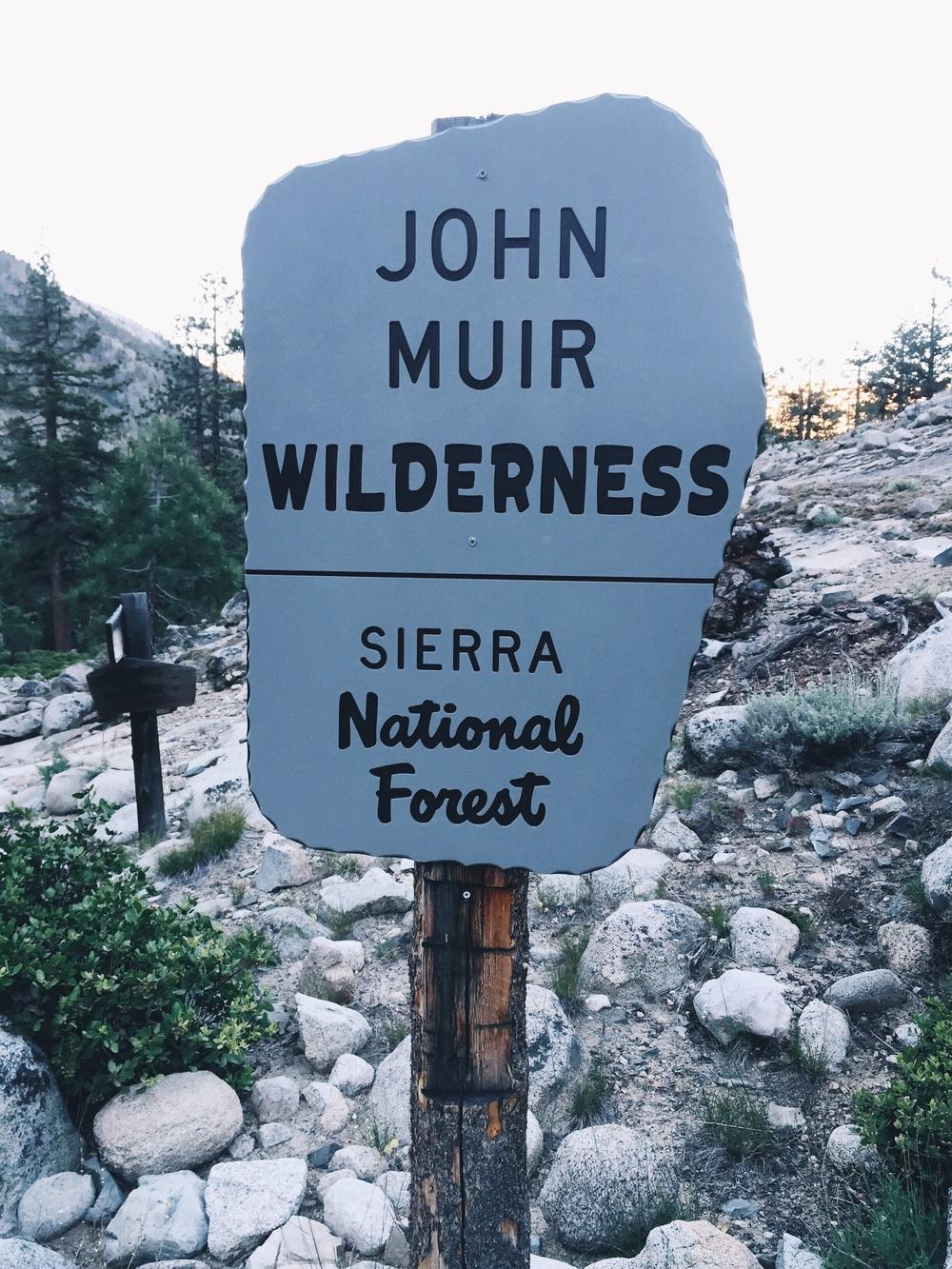 That John guy's wilderness.