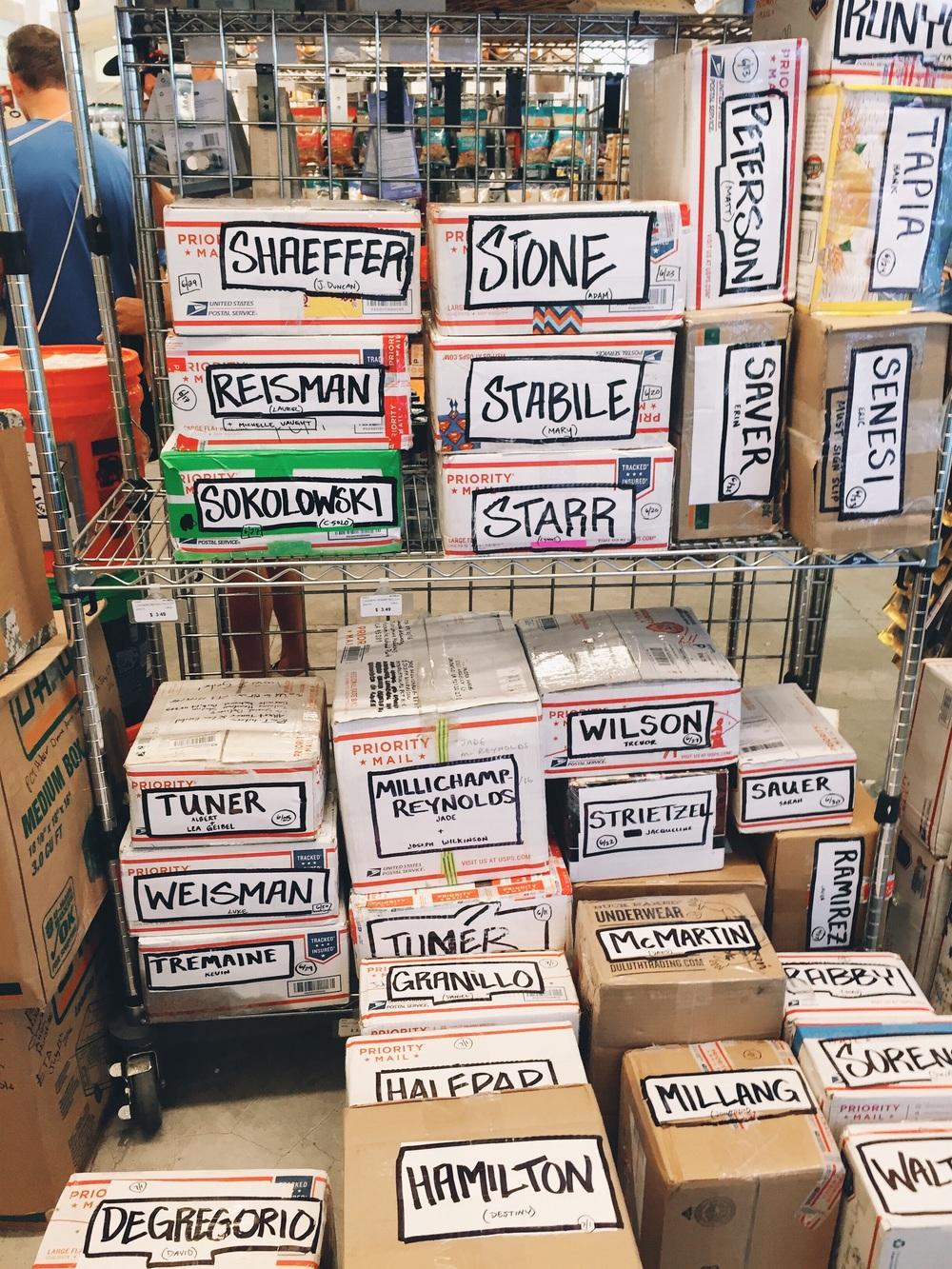 Soooo many boxes.