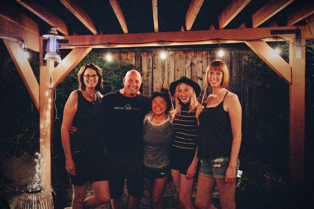 Lori, Doug, me, Bria, amye