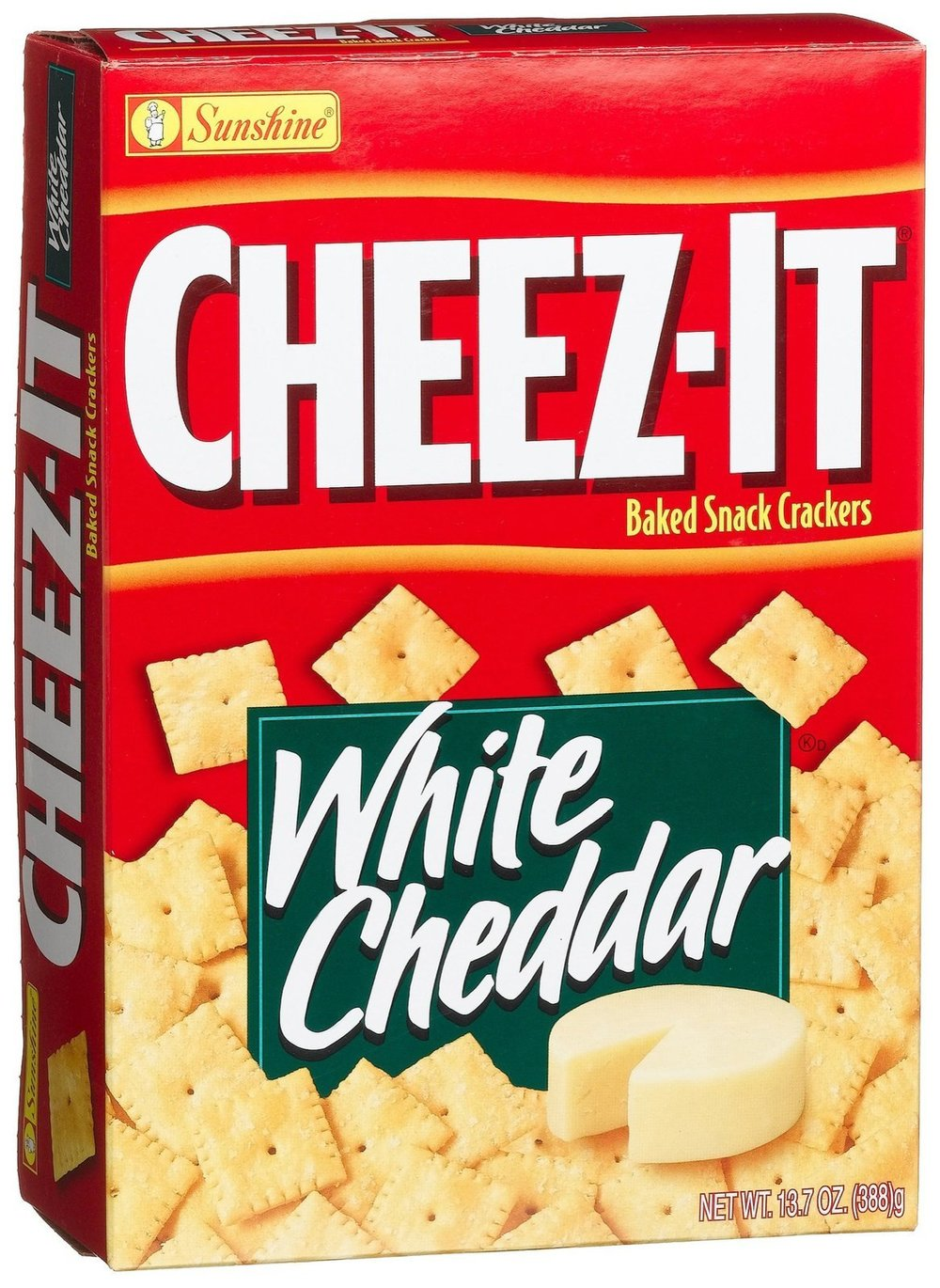 You need that something salty and crunchy, so white cheddar cheez its of course!
