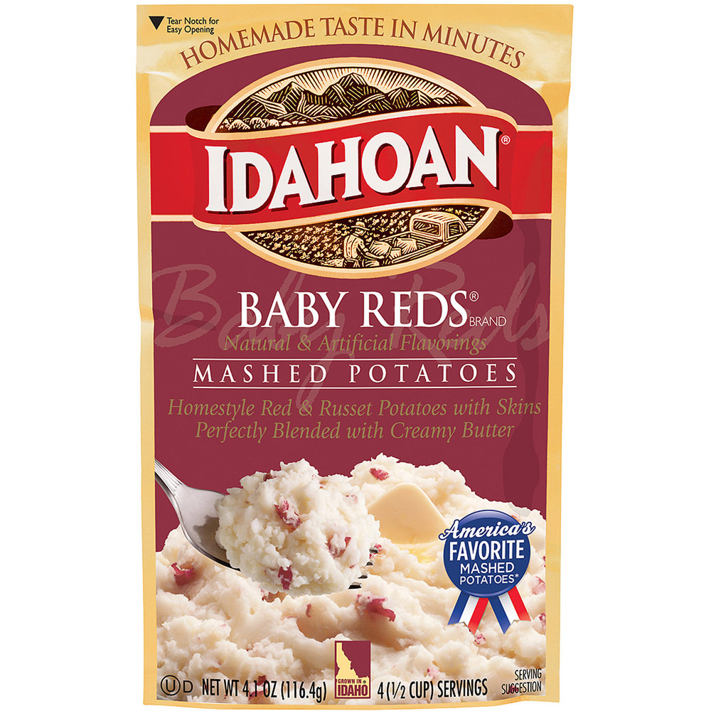 My most favorite, cold mashies. 95% of everyone gets sick of them. I only buy this flavor, butter or herb ones. Sometimes loaded baked, but the garlic, super cheesy or bacon ones gross me out.