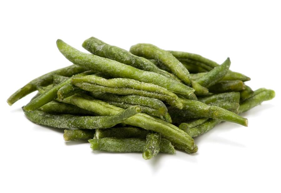 Green bean chips, another semi healthy snack.