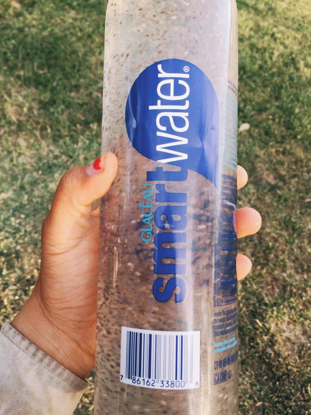 Chia water.