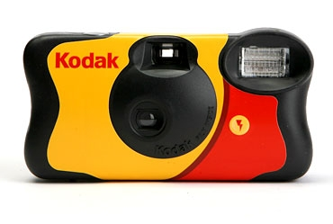 My very first camera. Dispoable forever. <3