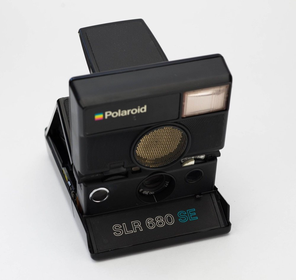 The Polaroid SLR 680, best instant cam ever.