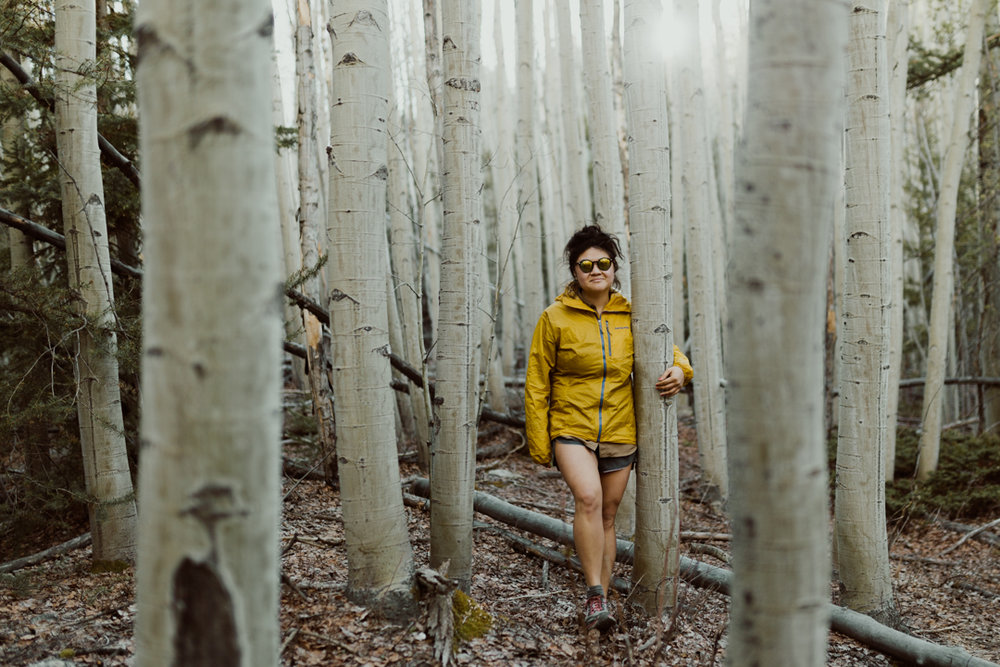 Patagonia Alpine Houdini jacket in CO. Photo by: Nate/Meg