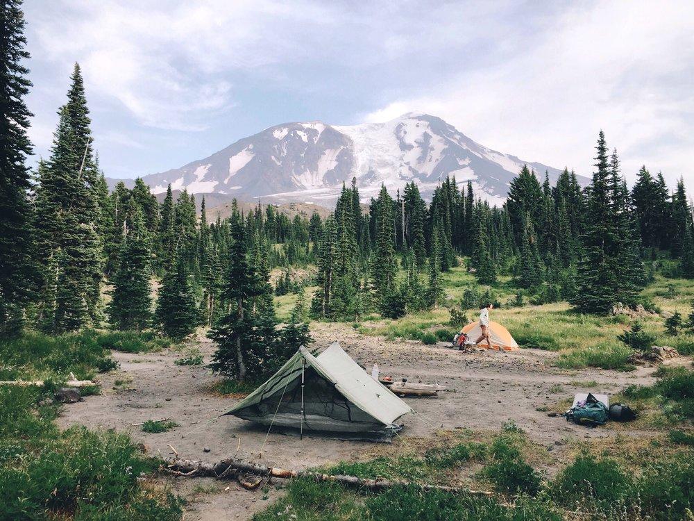 Our amazing campsite