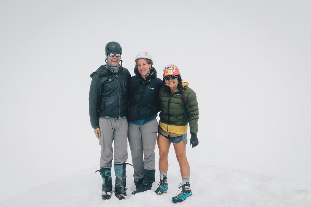 Decided to climb Glacier Peak W Nikki and Shawn the weekend before I left for PCT.