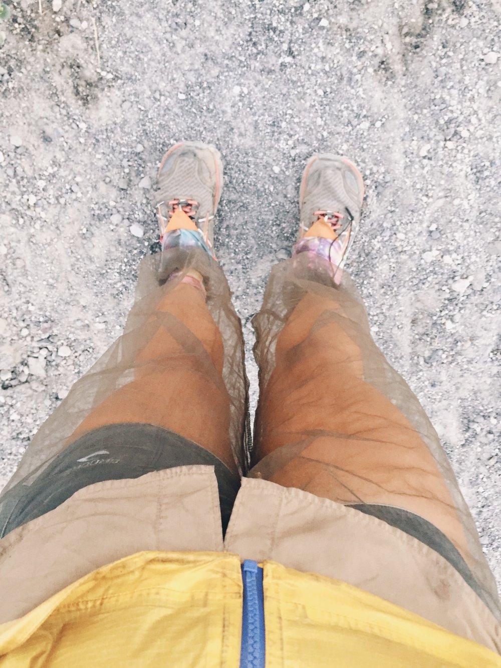 Bug pants.