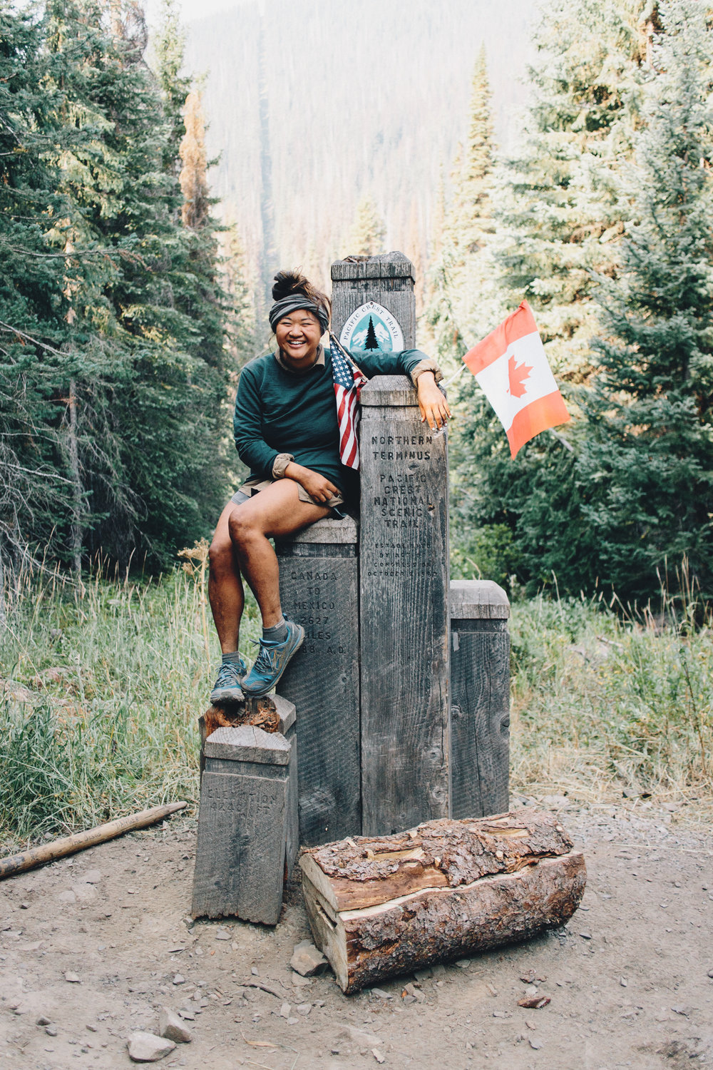 I finally made it to Canada after 171 days on trail.