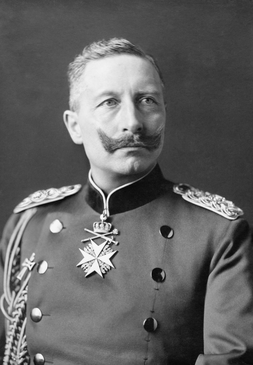 The Imperial: A lot of look. A little ridiculous. Small and bushy with the tips curled upward. Hair growing from beyond the corner of the mouth must be shaved. Time to get: Six months Worn by: Kaiser Wilhelm II