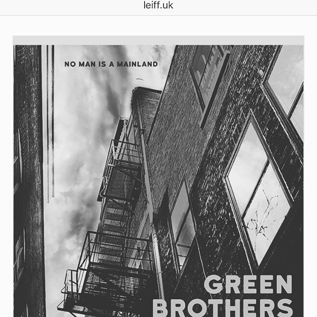 👀 We have songs in Green Brothers. The film is being featured this weekend at The London Eye International Film Festival. Support the SUPERFECTA family and check it out.