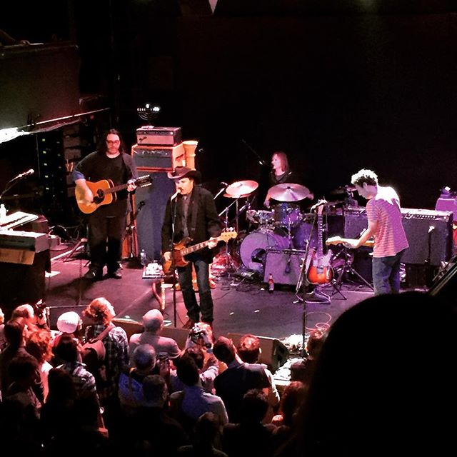 Overdue, but check out John Doe with Yo La Tengo!