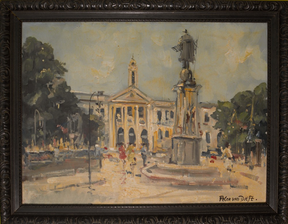 """Plaza De Colon"" by Peter Van Delft"