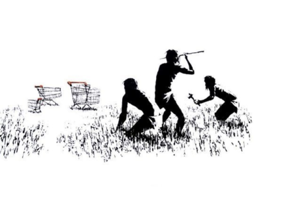 "Banksy ""Trolley Hunters"""