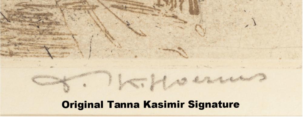 Original Tanna Kasimir Signature