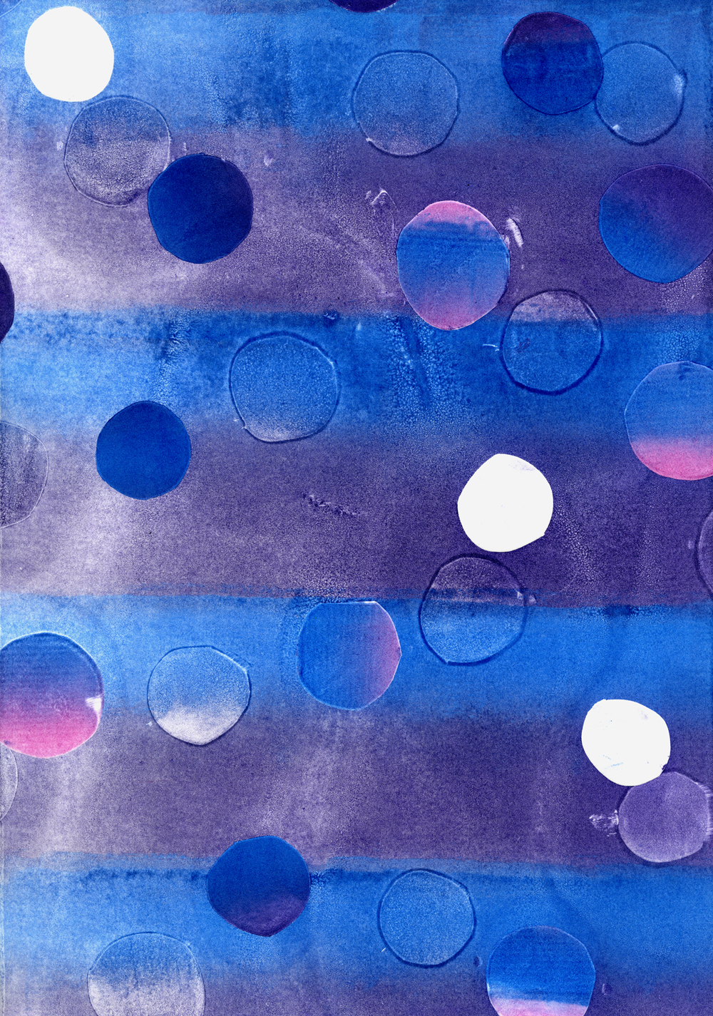 Untitled Purple/Blue Dots