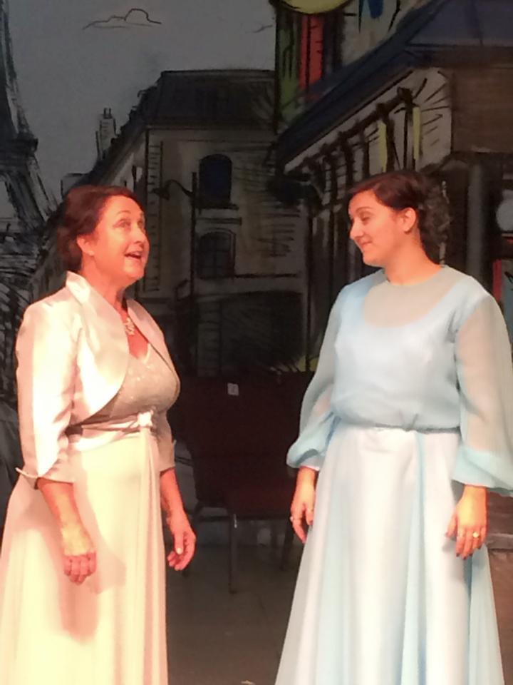 Aunt Alicia and Mamita